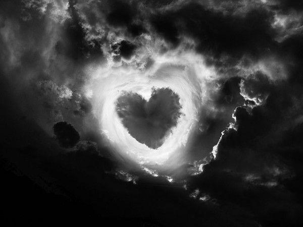 L 39 amour en noir blanc - Coeur d amoureux ...