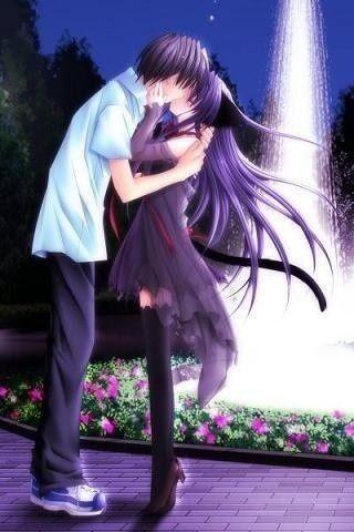Baiser d'amoureux